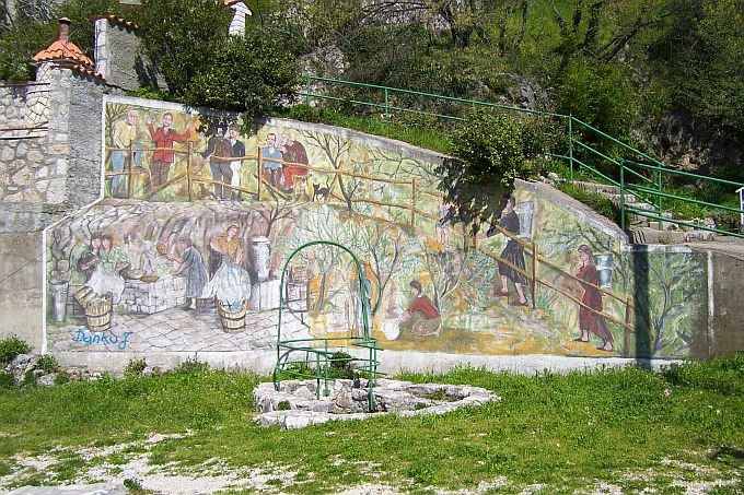 Grafiti - ulična umetnost Wandmalerei