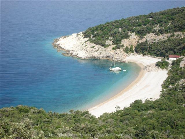 Island Cres, Beach in Lubenice