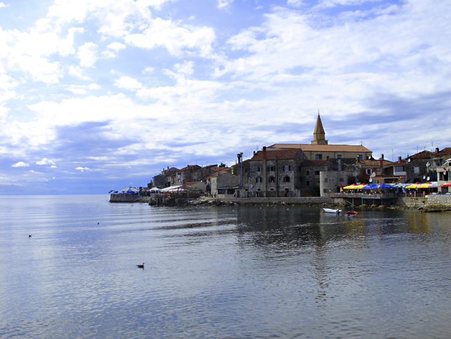 Old town of Umag