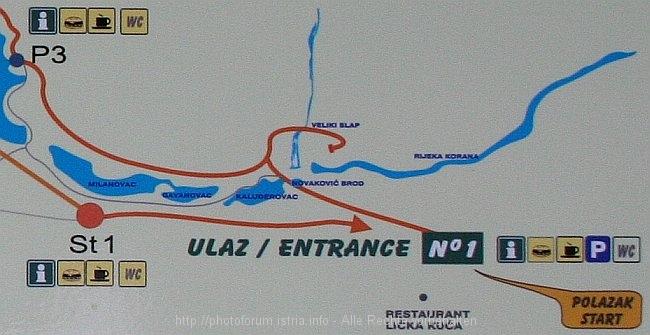 Nationalpark Plitvicer Seen Karte.Regentag Im Nationalpark Plitvicer Seen Teil 2 Kroatien