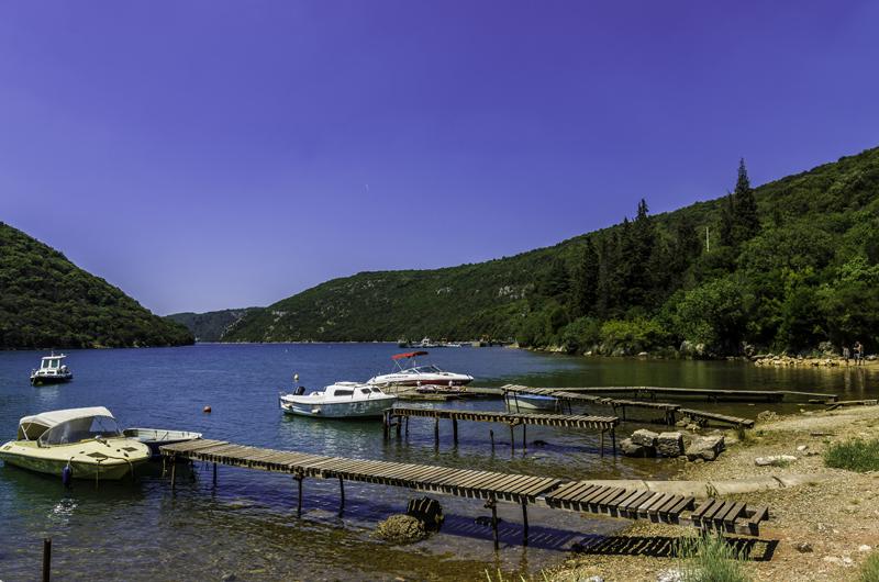 Istrien Limfjord Gt Ankunft Istrien Kroatien Photos